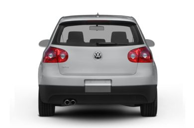 Rear Profile  2008 Volkswagen GTI