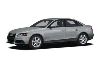 3/4 Front Glamour 2009 Audi A4