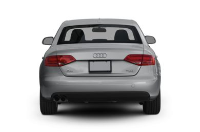 Rear Profile  2009 Audi A4