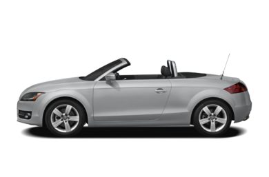 90 Degree Profile 2009 Audi TT