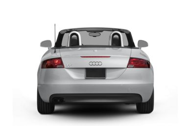 Rear Profile  2009 Audi TT