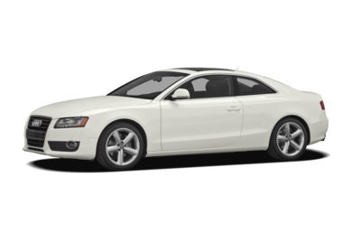 3/4 Front Glamour 2009 Audi A5
