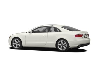 Surround 3/4 Rear - Drivers Side  2009 Audi A5
