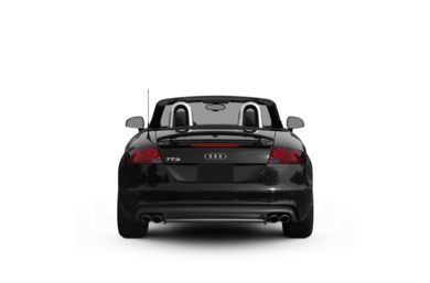 Surround Rear Profile 2009 Audi TTS