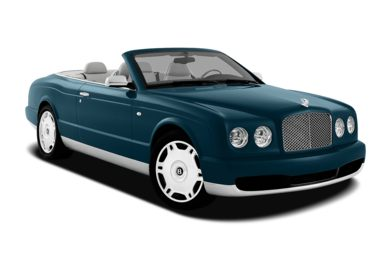 3/4 Front Glamour 2009 Bentley Azure