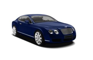 3/4 Front Glamour 2009 Bentley Continental GT