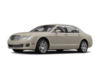 3/4 Front Glamour 2009 Bentley Continental Flying Spur