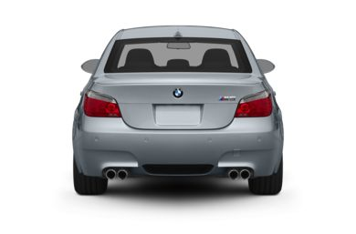 Rear Profile  2009 BMW M5