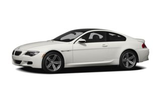 3/4 Front Glamour 2009 BMW M6