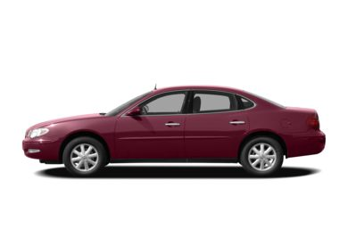 90 Degree Profile 2009 Buick LaCrosse