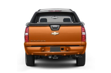 Rear Profile  2009 Chevrolet Avalanche