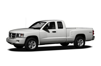 3/4 Front Glamour 2009 Dodge Dakota