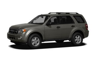 3/4 Front Glamour 2009 Ford Escape