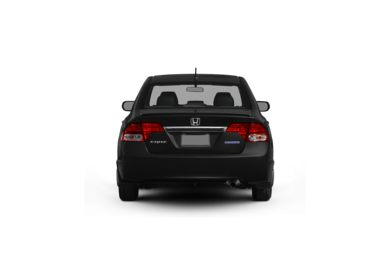 Surround Rear Profile 2009 Honda Civic Hybrid