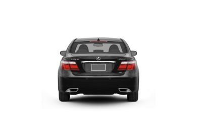 Surround Rear Profile 2009 Lexus LS 460