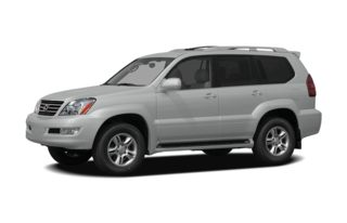3/4 Front Glamour 2009 Lexus GX 470
