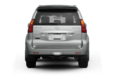 Rear Profile  2009 Lexus GX 470