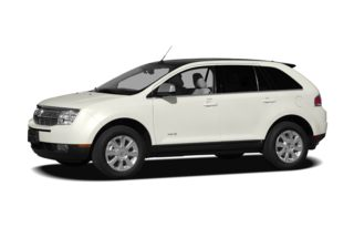 3/4 Front Glamour 2009 Lincoln MKX