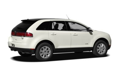 3/4 Rear Glamour  2009 Lincoln MKX