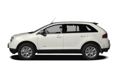 90 Degree Profile 2009 Lincoln MKX