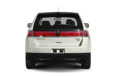 Rear Profile  2009 Lincoln MKX
