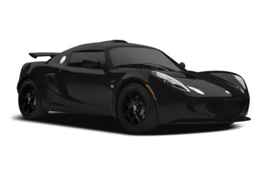 3/4 Front Glamour 2009 Lotus Exige