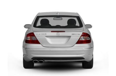 Rear Profile  2009 Mercedes-Benz CLK550