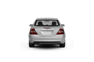 Surround Rear Profile 2009 Mercedes-Benz CLK350
