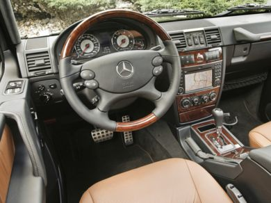 OEM Interior Primary  2010 Mercedes-Benz G55 AMG
