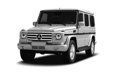 3/4 Front Glamour 2009 Mercedes-Benz G550