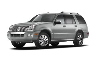 3/4 Front Glamour 2009 Mercury Mountaineer