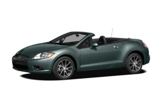 3/4 Front Glamour 2009 Mitsubishi Eclipse Spyder