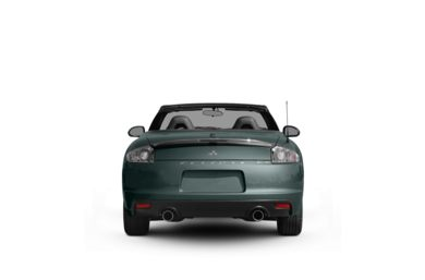Surround Rear Profile 2009 Mitsubishi Eclipse Spyder