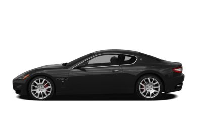 90 Degree Profile 2009 Maserati GranTurismo