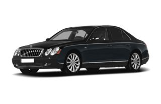 3/4 Front Glamour 2009 Maybach 57