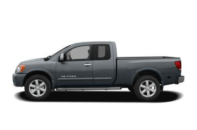 90 Degree Profile 2009 Nissan Titan