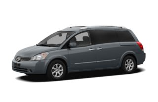 3/4 Front Glamour 2009 Nissan Quest
