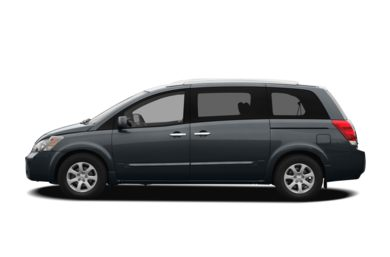 90 Degree Profile 2009 Nissan Quest