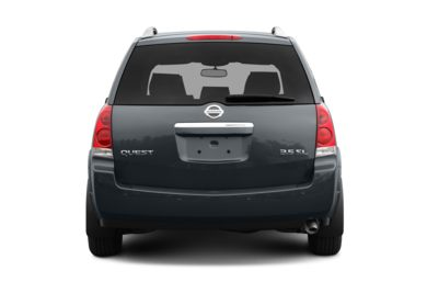 Rear Profile  2009 Nissan Quest