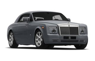 3/4 Front Glamour 2009 Rolls-Royce Phantom Coupe