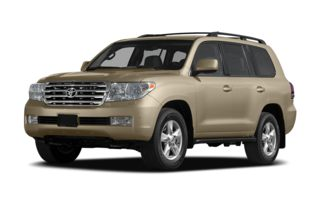3/4 Front Glamour 2009 Toyota Land Cruiser