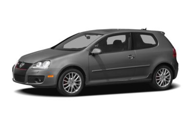 3/4 Front Glamour 2009 Volkswagen GTI