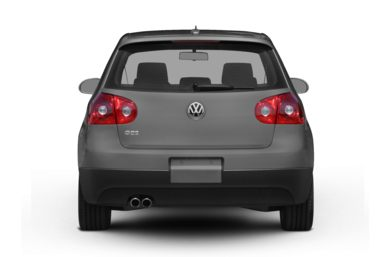 Rear Profile  2009 Volkswagen GTI