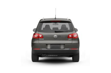 Surround Rear Profile 2009 Volkswagen Tiguan