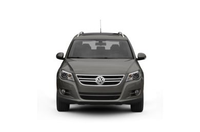 Surround Front Profile  2009 Volkswagen Tiguan