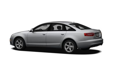 Surround 3/4 Rear - Drivers Side  2010 Audi A6
