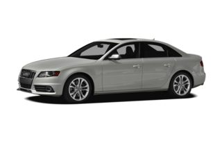 3/4 Front Glamour 2010 Audi S4