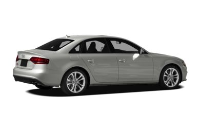 3/4 Rear Glamour  2010 Audi S4