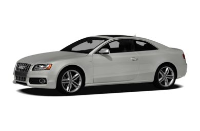 3/4 Front Glamour 2010 Audi S5