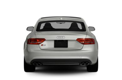 Rear Profile  2010 Audi S5
